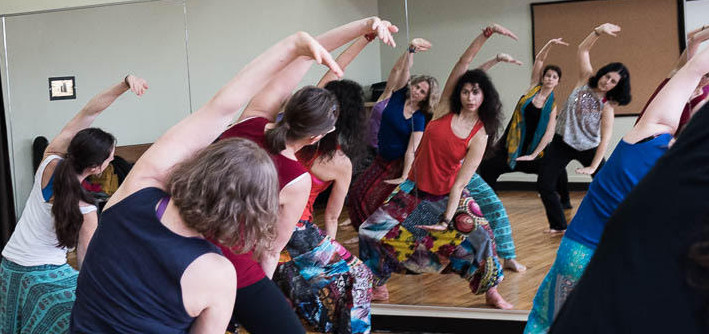 Vero Bollywood Dance workshop in Montreal
